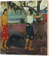 Gauguin: Pandanus, 1891 Wood Print by Granger