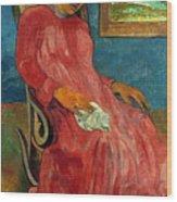 Gauguin: Reverie, 1891 Wood Print