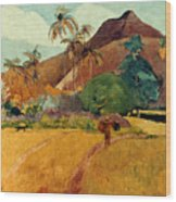 Gauguin: Tahiti, 1891 Wood Print