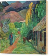 Gauguin Tahiti 19th Century Wood Print