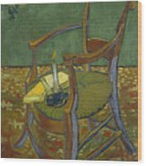 Gauguin's Chair Wood Print