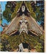 Gaurdian Of The Woods Wood Print