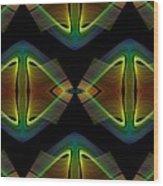 Gay Splendor Wood Print