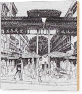 Gaya Street Wood Print