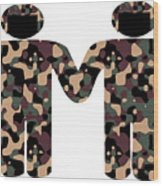 Gays In The Military Wood Print
