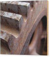 Gear Wood Print