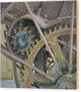 Gears Wood Print