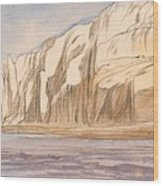 Gebel Abu Fodde By Edward Lear  1867 Wood Print