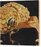 Gecko - Id 16218-130646-3343 Wood Print