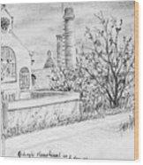 Gedempt Hamerkanaal Wood Print