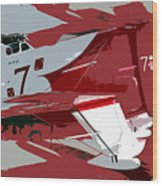 Gee Bee Racer Wood Print