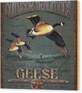 Geese Traditions Wood Print