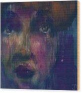 Geez Louise Wood Print