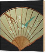 Geisha Sunrise Wood Print