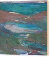 Gem Tide Wood Print