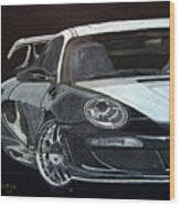 Gemballa Porsche Right Wood Print