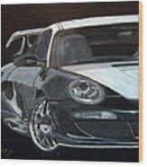 Gemballa Porsche Right Wood Print