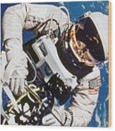 Gemini 4: Spacewalk, 1965 Wood Print