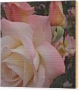 Gemini Rose Wood Print
