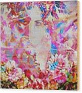 Gemini Woman Wood Print
