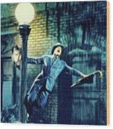 Gene Kelly, Singing In The Rain Wood Print