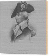 General Anthony Wayne Wood Print