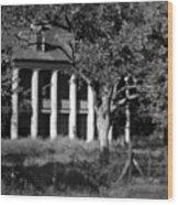 General Beauregard's Plantation Wood Print