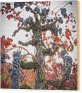 General Cluster Wood Print
