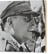 General Douglas Macarthur, 1944 Wood Print