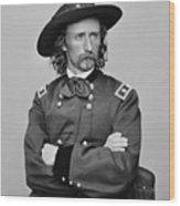 General George Armstrong Custer Wood Print