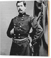 General George Mcclellan Wood Print by War Is Hell Store