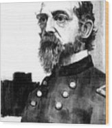 General George Meade Wood Print