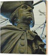General George Washington Wood Print