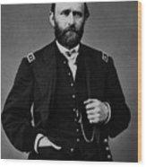 General Grant During The Civil War Wood Print