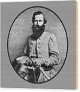 General Jeb Stuart Wood Print