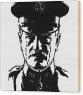 General John Pershing Wood Print