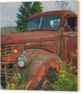 General Motors Truck Wood Print