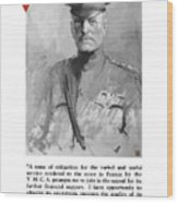 General Pershing - United War Works Campaign Wood Print