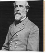 General Robert E Lee - Csa Wood Print by Paul W Faust -  Impressions of Light