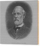 General Robert E. Lee Print Wood Print