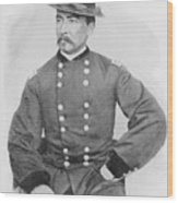 General Sheridan Civil War Portrait Wood Print
