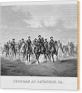 General Sherman At Savannah Wood Print
