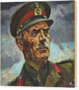 General Sir Alan Cunningham Wood Print