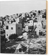 General View Of Bethlehem 1800s Wood Print