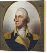General Washington - Porthole Portrait  Wood Print