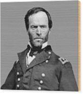 General William Tecumseh Sherman Wood Print