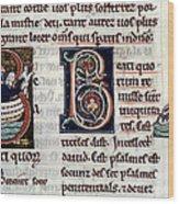 Genesis: Noah Wood Print