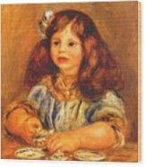 Genevieve Bernheim De Villers 1910 Wood Print