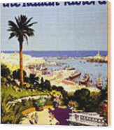 Genoa, Italian Riviera, Coast Wood Print