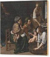 Genoese School Wood Print